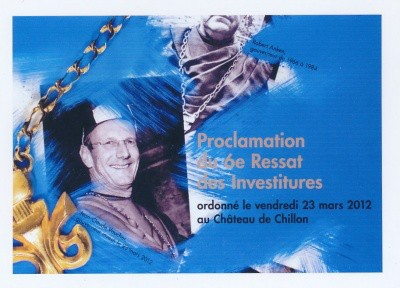 DVD Investitures 2012
